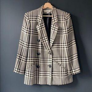 Christian Dior Vintage Houndstooth blazer